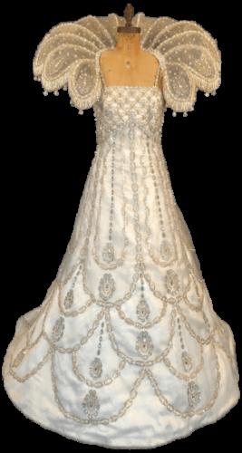 Queen Gowns & Collars, Mardi Gras